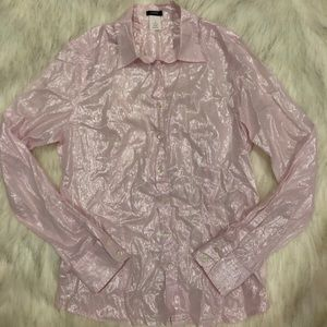 J. Crew Shimmery Button Down